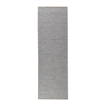 Matta Plain Light grey 80x250cm Norrgavel