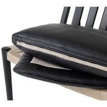Easy chair Svart bets detalj Norrgavel
